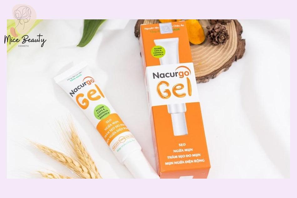 Nacurgo Gel giúp trị sẹo mới hình thành