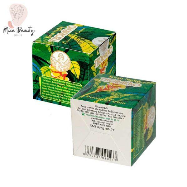 Hình ảnh hộp kem nghệ Thorakao