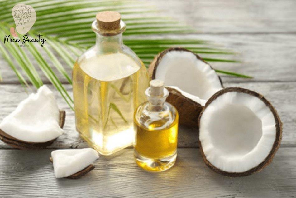 Cách trị mụn ẩn dưới da bằng dầu dừa