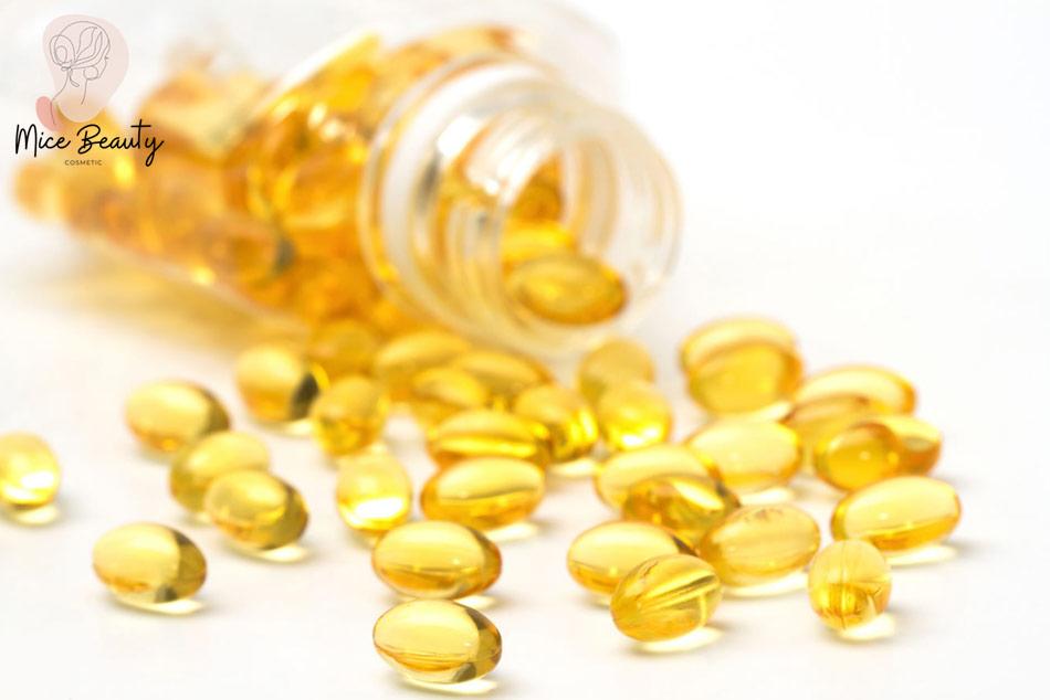 Trị mụn, xóa thâm bằng vitamin E