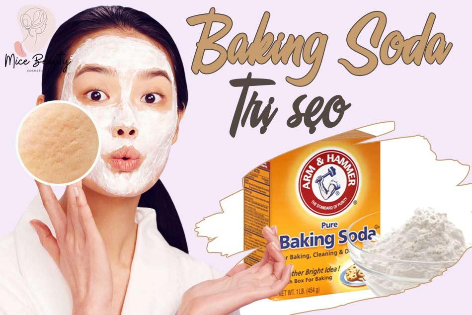 Vì sao Baking Soda có thể trị mụn?