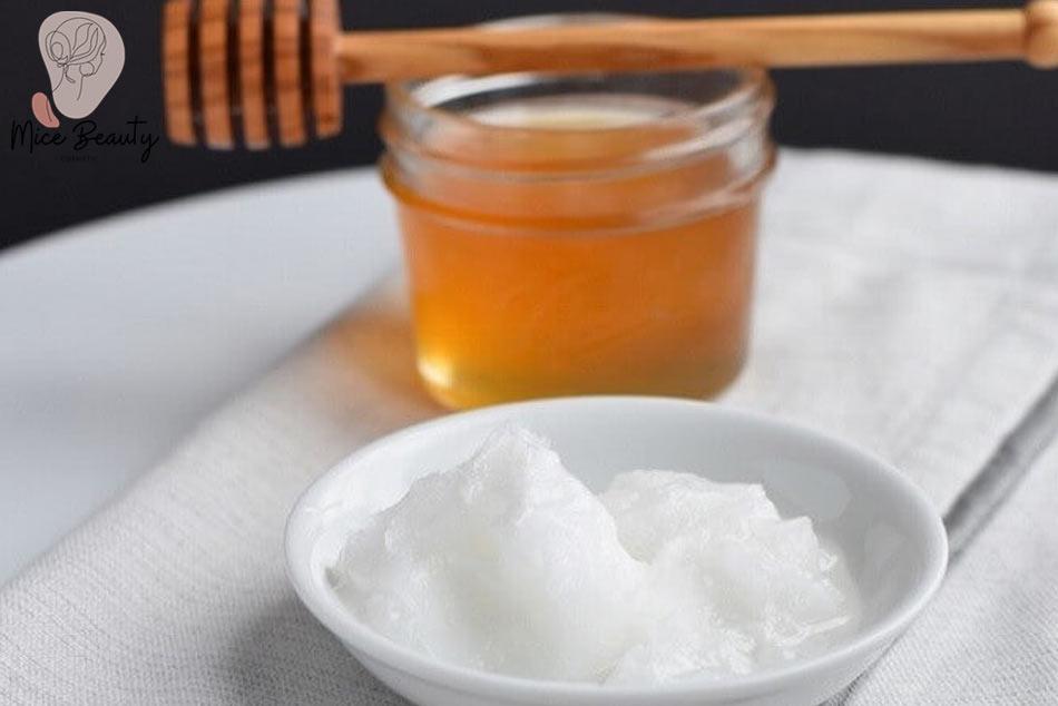 Baking Soda kết hợp mật ong trị sẹo rỗ
