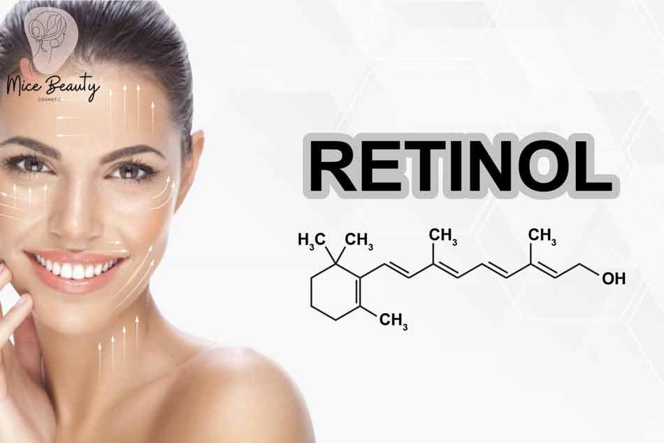 Sử dụng Retinol điều trị mụn bọc ở cằm