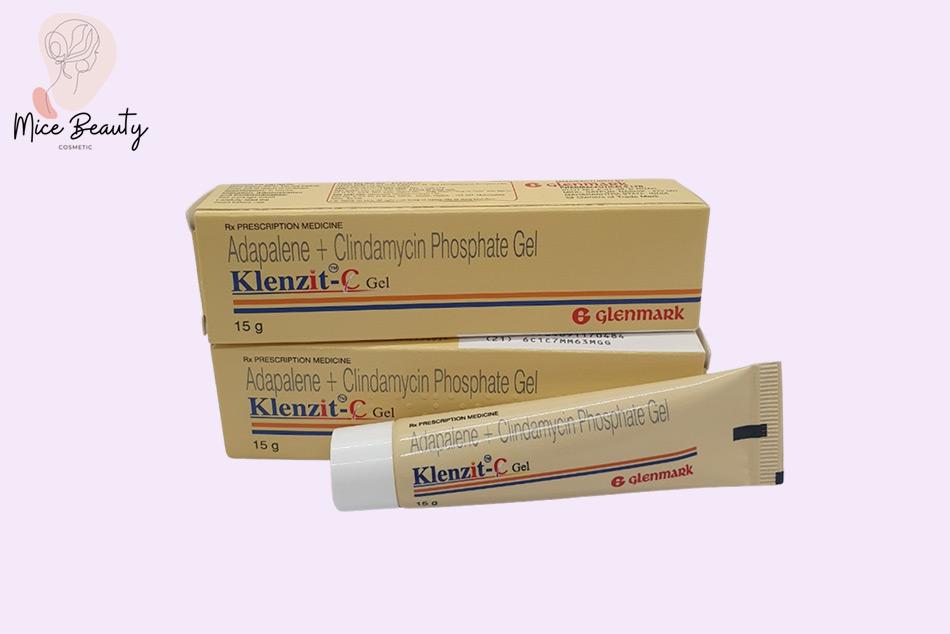 Klenzit C chứa Clindamycin và Adapalene